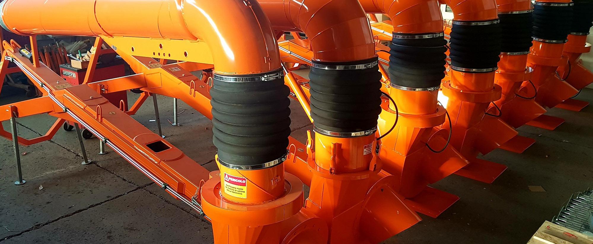Produzione e assemblaggio Pompe mobili