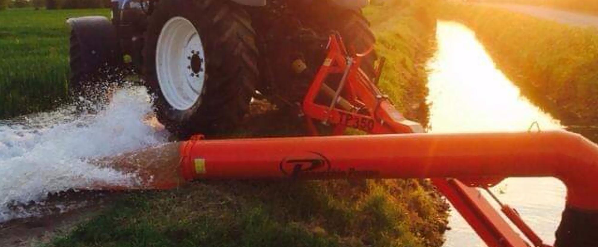 pompe mobili Pennacchio per irrigazione diretta delle colture e la bonifica di terreni
