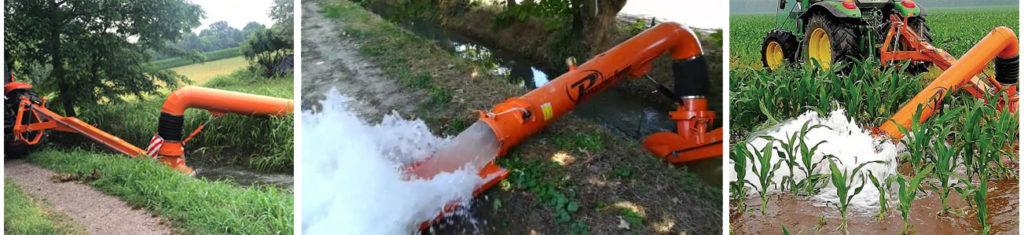 pompe mobili per il sollevamento acque